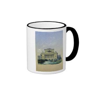 The Alexander Theatre in St. Petersburg, 1841 Ringer Mug