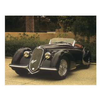 The Alfa Romeo 8C 2900B is a very rare and very Postcard