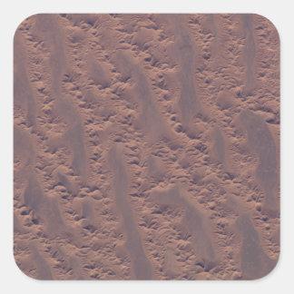 The Algerian desert Square Sticker