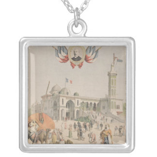 The Algerian Pavilion at the Universal Exhibition Personalized Necklace