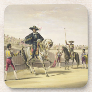 The Alguazil Delivering the Keys of the Toril, 186 Beverage Coasters
