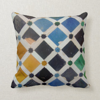 The Alhambra Andalusia Spain Throw Pillow