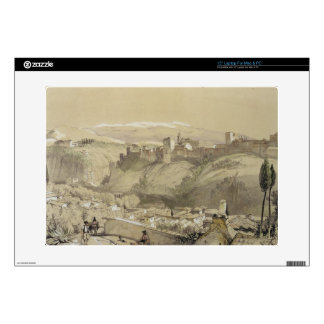 """The Alhambra from the Albay, from 'Sketches and Dr 15"""" Laptop Skin"""