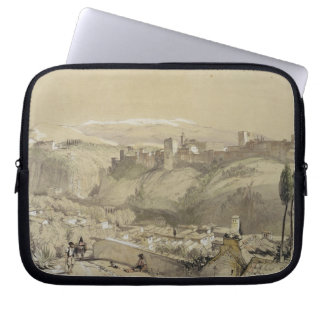 The Alhambra from the Albay, from 'Sketches and Dr Laptop Sleeve