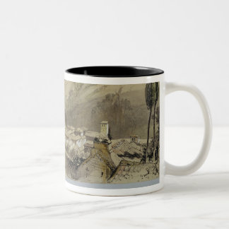 The Alhambra from the Albay, from 'Sketches and Dr Two-Tone Coffee Mug