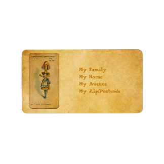 The Alice Collection: Alice Telescoping Label