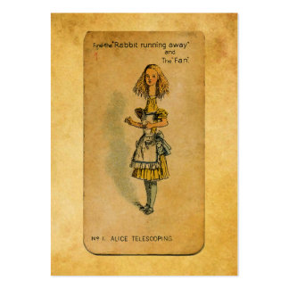 The Alice Collection: Alice Telescoping Large Business Card