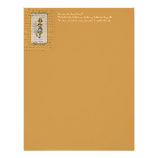 The Alice Collection: Alice Telescoping Letterhead