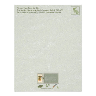 The Alice Collection: The Cheshire Cat Letterhead