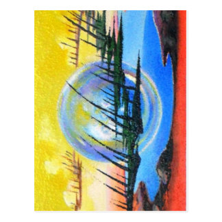 THE ALIEN ABSTRACT by Leomariano Postcard