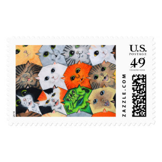 The Alien Among Us Postage Stamp