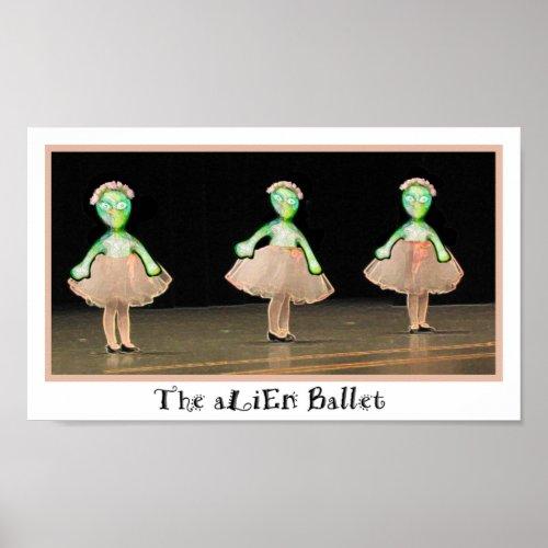 The aLiEn Ballet! print