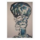 The Alien I am Postcard