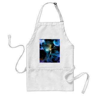 The alien in the universe aprons