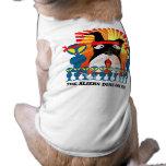 The Aliens Done Got Me! Pet T-shirt