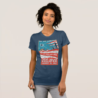 The All American Total Solar Eclipse Tshirt