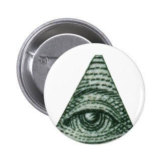 The All Seeing Eye 2 Inch Round Button