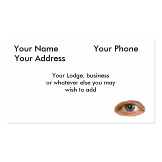 The All Seeing Eye Business Card