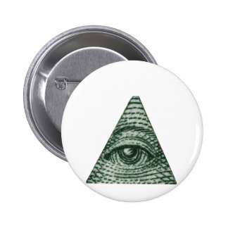 The All Seeing Eye Pinback Buttons