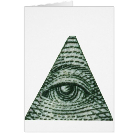 The All Seeing Eye Card