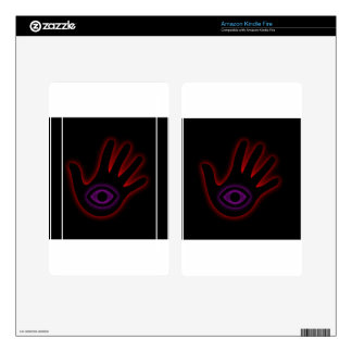The All Seeing Eye- illuminati Decals For Kindle Fire