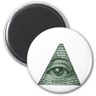 The All Seeing Eye Refrigerator Magnets