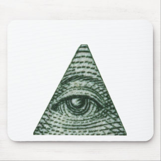 The All Seeing Eye Mouse Pad