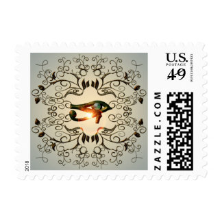 The all seeing eye postage stamp