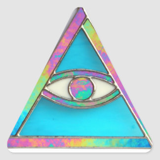 """The All Seeing Eye"" sticker"