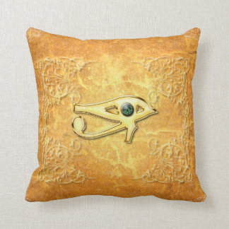 The all seeing eye with eye in soft colors pillows