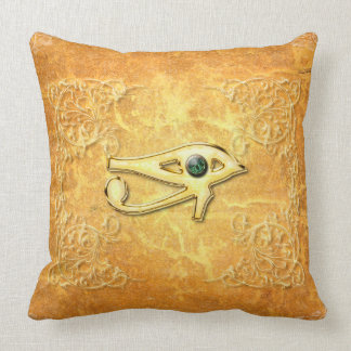 The all seeing eye with eye made of diamond pillows