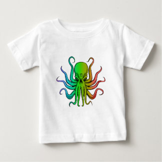 The all seeing rainbow octopus t-shirt