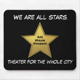 The All Stars MP/Black Mouse Pad