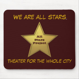 The All Stars MP/Brown Mouse Pad