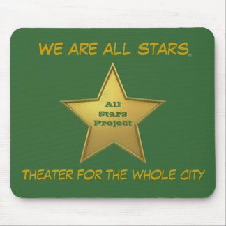 The All Stars MP/Green Mouse Pad