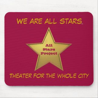 The All Stars MP/Maroon Mouse Pad