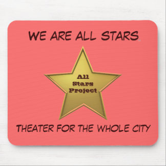 The All Stars MP/Pink Mouse Pad