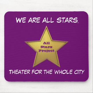 The All Stars MP/Purple Mouse Pad
