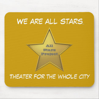 The All Stars MP/Sunshine Yellow Mouse Pad