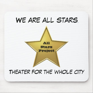 The All Stars MP/White Mouse Pad