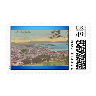 The All View Of Beppu Japan, Vintage Postage