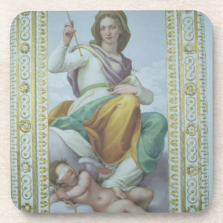 The Allegory of Chastity (fresco) Beverage Coaster