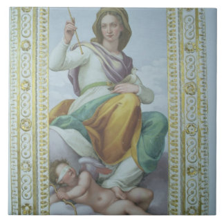 The Allegory of Chastity (fresco) Ceramic Tile