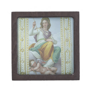 The Allegory of Chastity (fresco) Keepsake Box