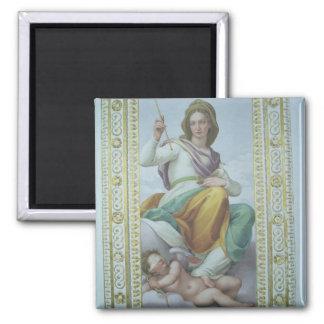 The Allegory of Chastity (fresco) Fridge Magnet