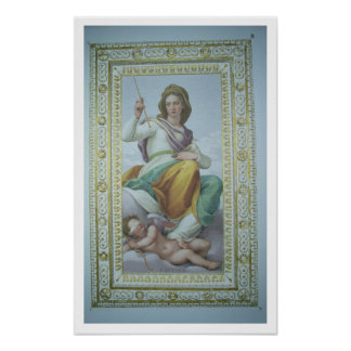 The Allegory of Chastity (fresco) Poster