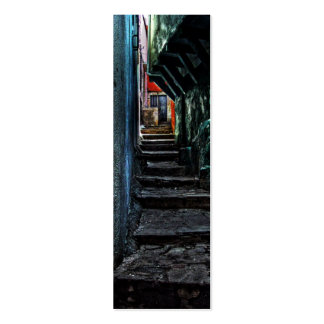 The Alley, Mexico Bookmark Mini Business Card