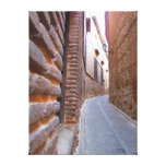 The Alley Stretched Canvas Prints