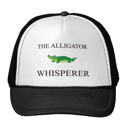 The Alligator Whisperer Mesh Hat