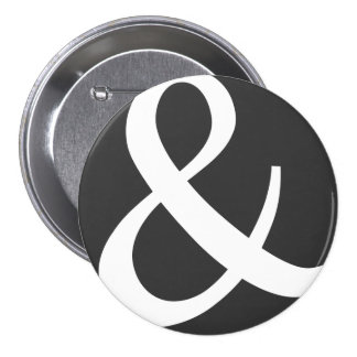 The Almighty Ampersand 3 Inch Round Button